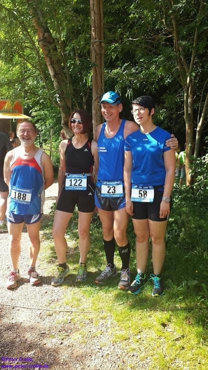 Läufer der LAG beim 5. Saarkohlewaldlauf