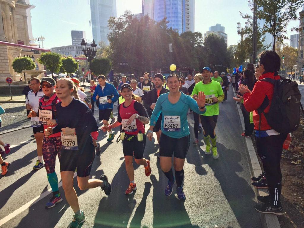 Frankfurt Marathon bei bestem Laufwetter Foto: Cyril Leismann