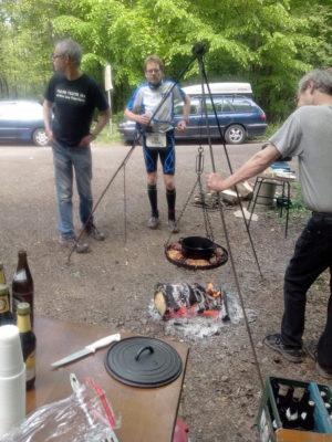 Hartfüßlertrail 2015 - Schwenker am VP 5