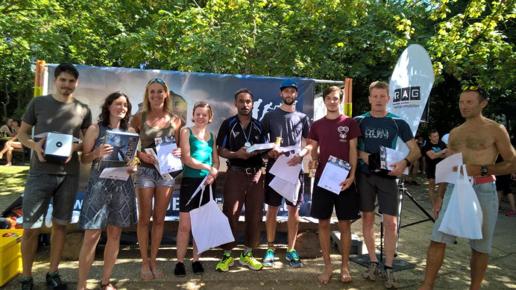 HFT Sieger der 14 km Distanz