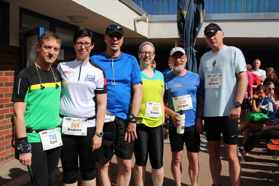 Training für Hartfüssler-Trail und Frankfurt Marathon