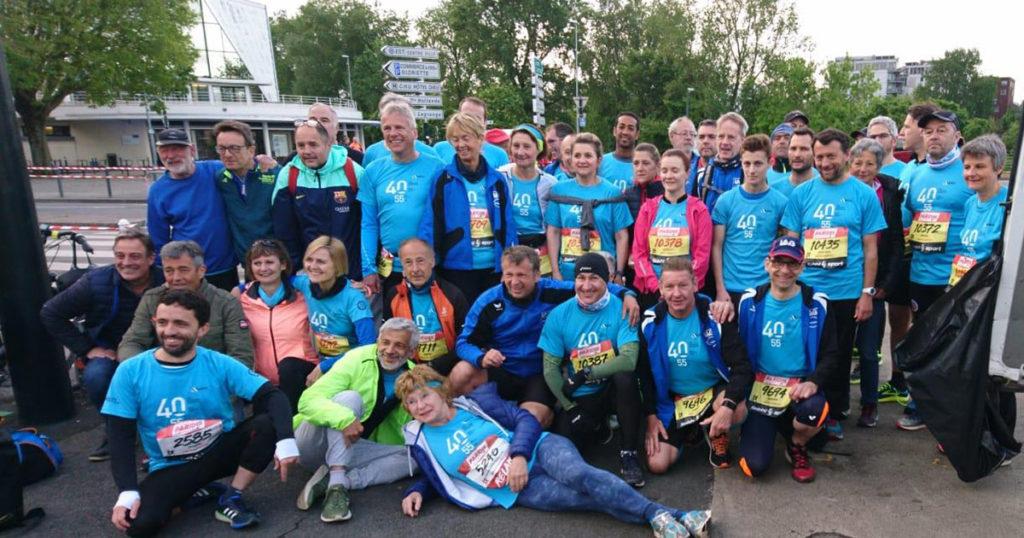 LAG Saarbrücken beim Nantes Marathon