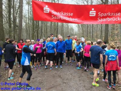 Einladung zur Saisoneröffnung am 07.04.: Freundschaftslauf durch den Saarbrücker Stadtwald