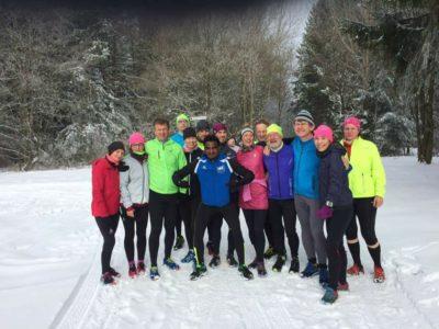 Rückblick Trainings- und Wellnesswochenende im völlig verschneiten Hochwald
